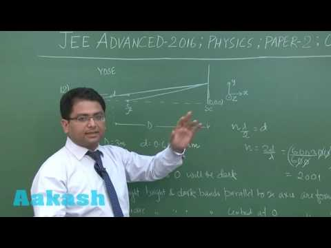 JEE Advanced 2016 Solution Paper-2 Physics [Q. 12-13] By Aakash