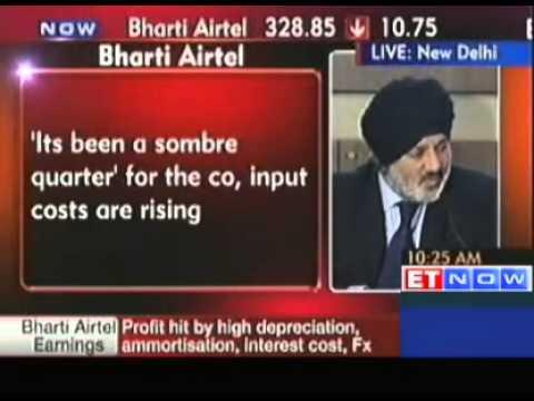 Bharti Airtel Q3 PAT falls 72% to Rs 284 crore