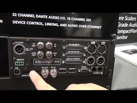 NAB 2012  - Sound Devices PIX-260