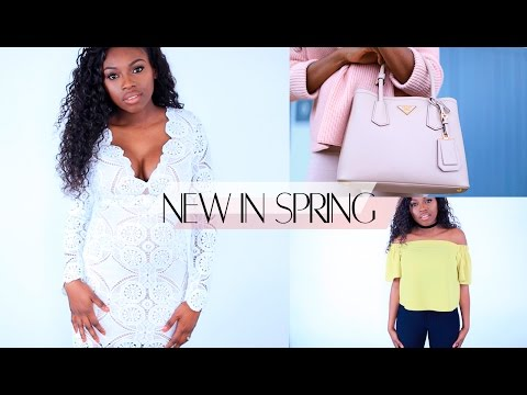 SPRING NEW IN - HAUL | IVY PARK, PRADA, TOPSHOP ASOS & BEAUTY!!!!