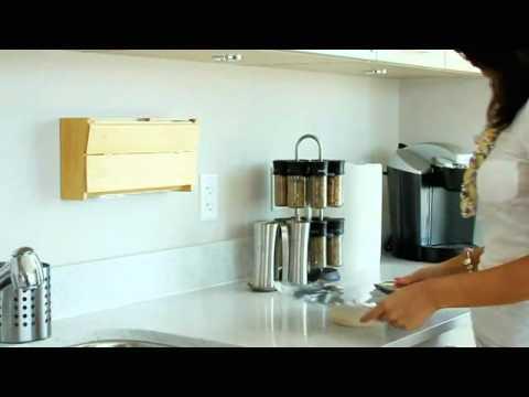 Wrap Dispenser Kitchen Wrap Dispenser Aluminum