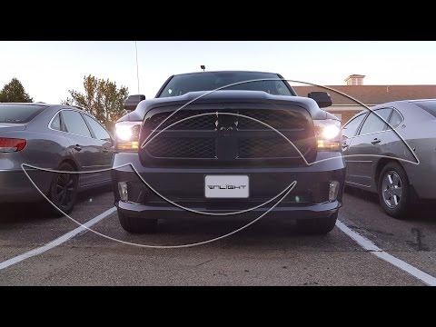 DIY: 2015 Dodge Ram Xenon HID Headlights - Custom HID Kit from ENLIGHT