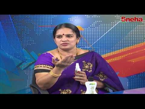 Manoj Herbals | Herbal Solutions for Skin Problem || Sneha TV Telugu