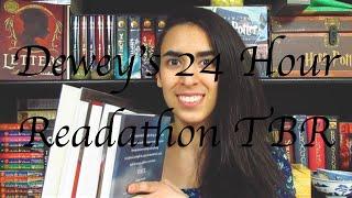 Dewey's 24 Hour Readathon TBR