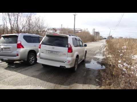 Toyota Prado 120 1GR TRD Supercharged VS Lexus GX460 1UR stock