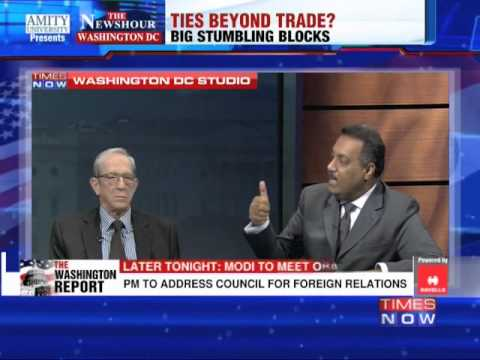 The Newshour Debate from Washington, D.C : Trade before ties? - Full Debate (29th Sept 2014)