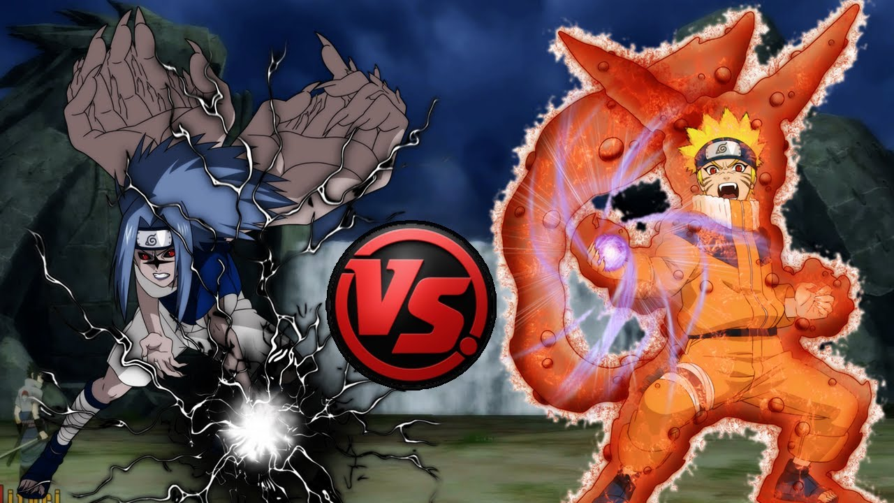 Naruto Ultimate Ninja Storm   Curse Mark Lv2 Sasuke vs One ...
