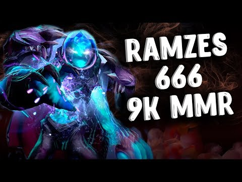 RAMZES 666 9K MMR ARC WARDEN DOTA 2