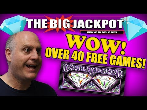 WOW! OVER 40 FREE GAMES??? 🔹DOUBLE DIAMOND MAKES A COMEBACK!