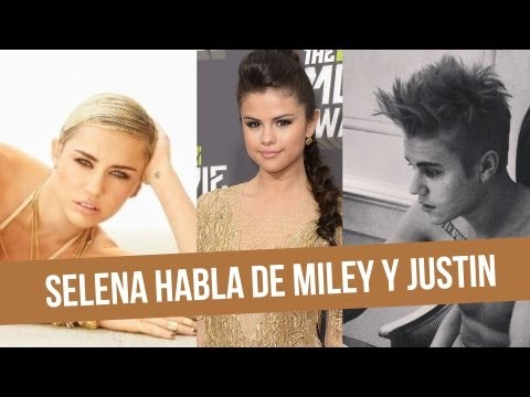 Selena Gmez Habla de Justin y Miley!