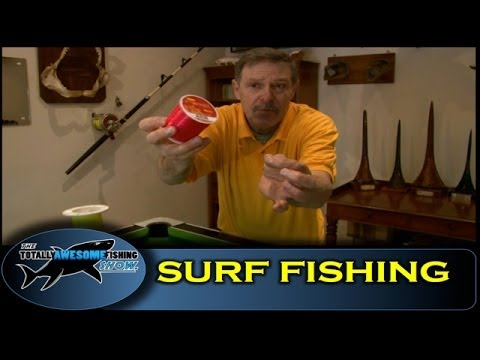 Surf fishing for Bass & Flounders - Vintage - The Totally Awesome Fishing Show