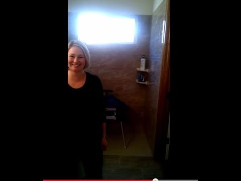 Mother In Denver Reviews Her Roll In Shower And Ceiling Patient Lift.avi video