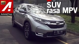 Honda CR-V Turbo review & test drive by AutonetMagz