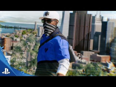 Watch Dogs 2 - PlayStation Store Pre-Order Exclusives Trailer | PS4