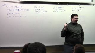 Brandon Sanderson Lecture 4: Character Creation Examples Part 1 (5/6)
