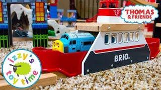 Thomas and Friends   Thomas Train BRIO FERRYSHIP! Fun Toy Trains for Kids   Videos for Children