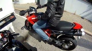 Ducati Hypermotard 1100 - Test drive!