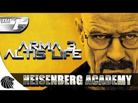 ArmA 3 Altis Life - Heisenberg Academy #1 #SaMito