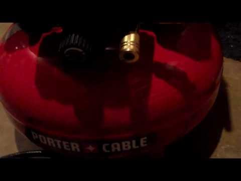 Review of the Porter-Cable 6-Gal. 150 psi Air Compressor and Nailer Combo Kit