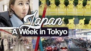 A Week in Tokyo: Shopping & Sickness! Random Weekly Vlog