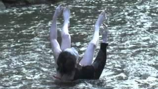 Koji Motoki Butoh Dance at Metoba River