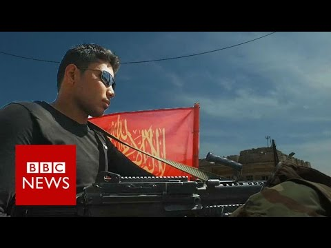 The land that used to belong to IS - BBC News