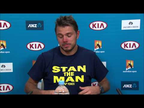 Stan Wawrinka press conference (SF) - Australian Open 2015