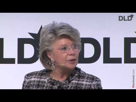 DLD15 - The Video Explosion (Kerry Trainor, Christian Wegner, Lutz Schüler, Viviane Reding)