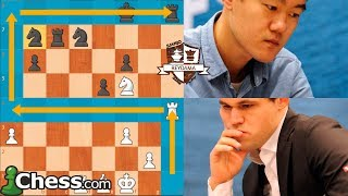 Carlsen Vs Ding Liren | Chess Stars Tournament (Ronda 1)