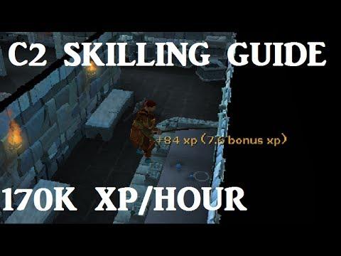C2 Fishing and Woodcutting Guide – 170K XP per hour [Runescape 2014]