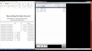 MYOB - Bank deposits and reconciliations