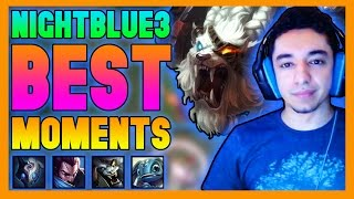 NightBlue3 Best Moments - League of Legends