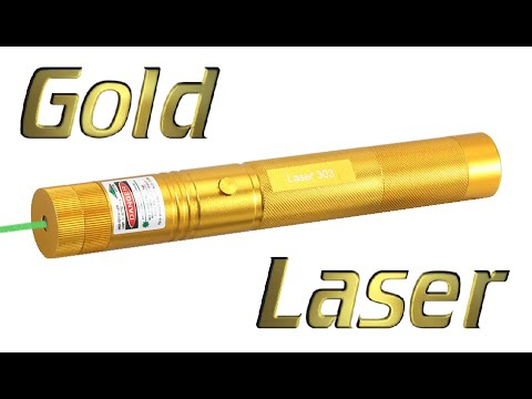 Gold Laser 303 532nm Green Laser Pointer Review