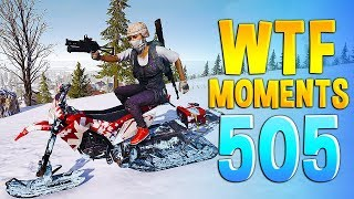 PUBG Daily Funny WTF Moments Highlights Ep 505