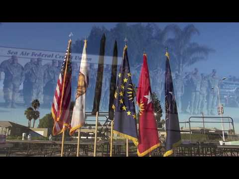 Change of Command ceremony at Los Alamitos Joint Training Base