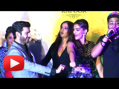 Fawad Khan And Sonam Kapoor Dance At The Music Launch Of Khoobsurat, Mumbai