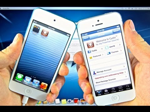 How To Jailbreak 6.1.2 & 6.1 Untethered - iPhone 5/4S/4/3Gs iPod 5G/4G iPad 4/3/2 & Mini