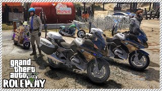 GTA 5 Roleplay - Motorcycle Biker Club Meet Ride Out | RedlineRP #154