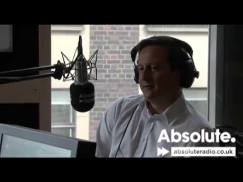 David Cameron and Nick Clegg on Absolute Radio