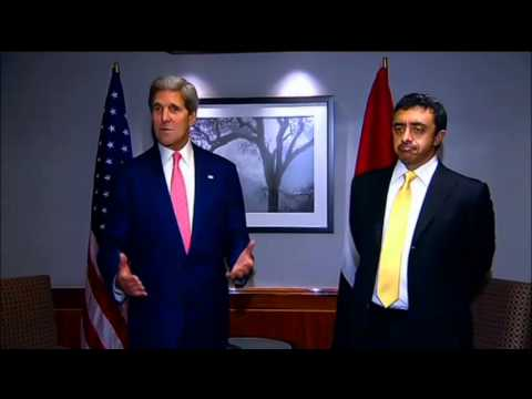 Secretary Kerry Delivers Remarks With U.A.E. Foreign Minister Abdullah