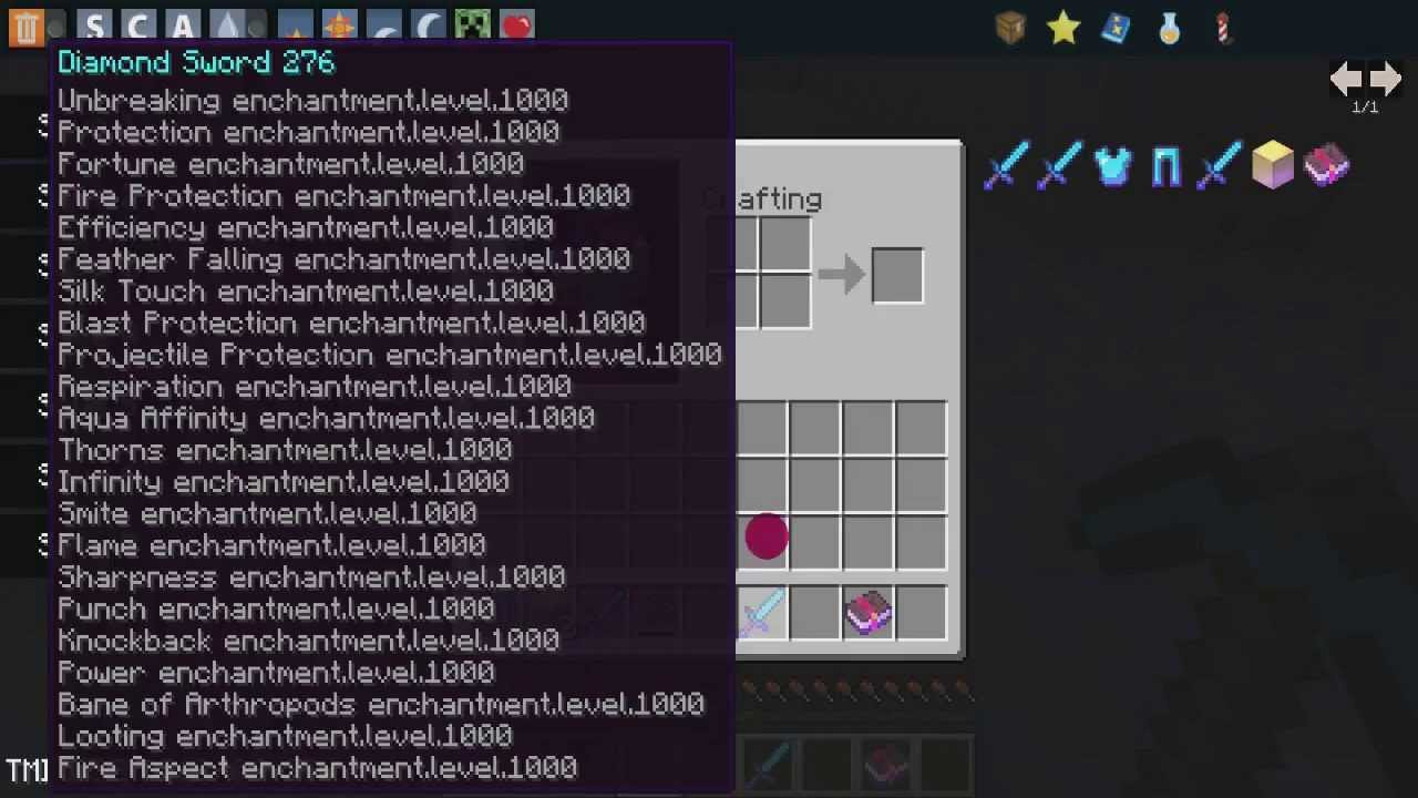 Как зачаровать меч на 1000 лвл в Майнкрафте 1.8 | Doovi