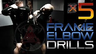 x5 TRITAC Frame Elbow Strikes - Fight Training Drill