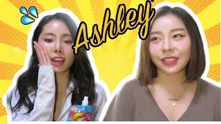 Asking tough Girl Group questions to Ladies Code Ashley | KPOP Interview
