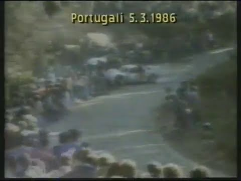 Rally Portugal 1986 accident - Group B