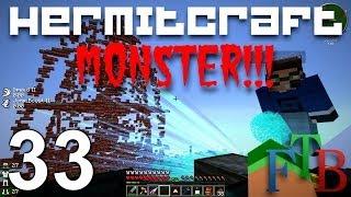Hermitcraft FTB Monster Ep 33 - Hypno go BOOM!!!
