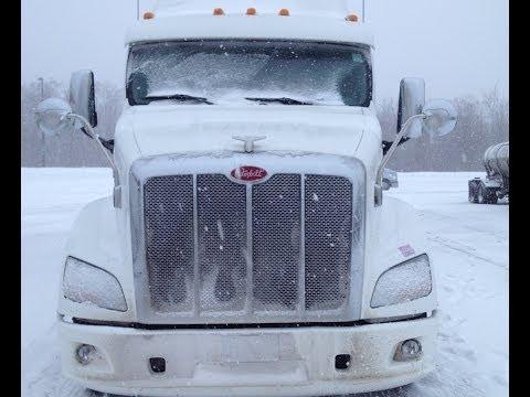 Caminhão Botando Pressão na Neve - Vlog18rodas