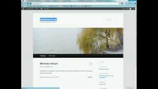wordpress kurulumu.avi