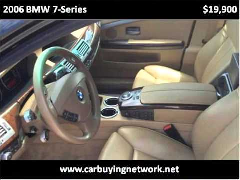 2006 BMW 7-Series Used Cars Jacksonville FL
