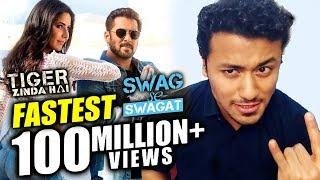 Swag Se Swagat Song | Fastest 100 Million Views | Tiger Zinda Hai | Salman Khan, Katrina Kaif