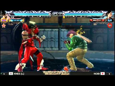 Tekken 7 Global Championship 2015 Grand FInal Knee VS Nobi